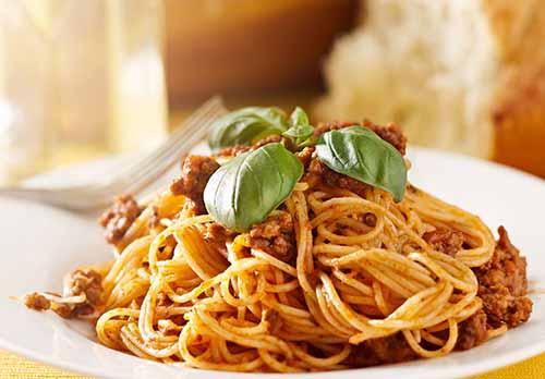 分享一下菇香牛肉意大利面的做法